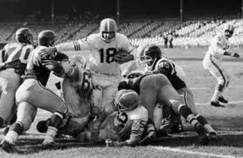 Tripucka vs NY Titans, 1962 (Photo courtesy of chieftain.com)