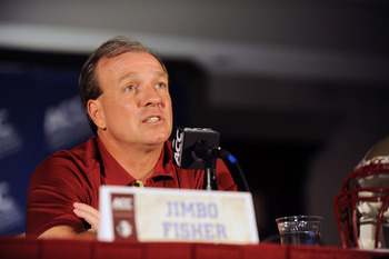 Jimbo Fisher looks focused to add Win No. 21 to his record.