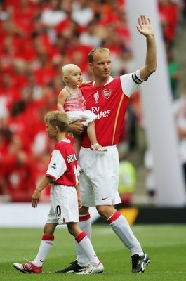 Dennis Bergkamp was both technically brilliant and creatively flashy.