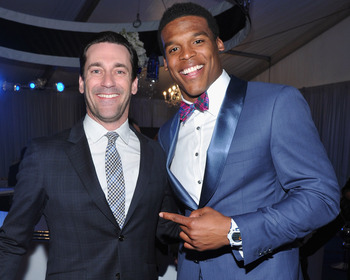 Cam Newton and Don Draper- who would have guessed?