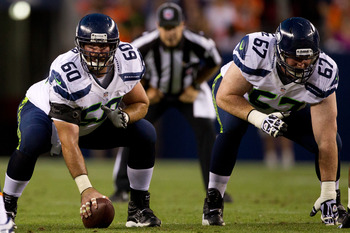 Seattle's offensive line will be key in this game.