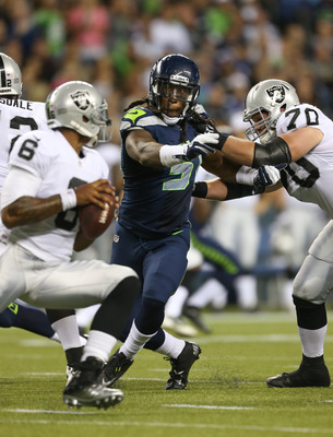 Bruce Irvin should be ready to exploit the St. Louis offensive line in Seattle.