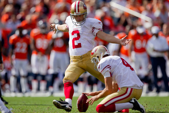 Kicker David Akers and punter Andy Lee were both First Team All-Pro selections.
