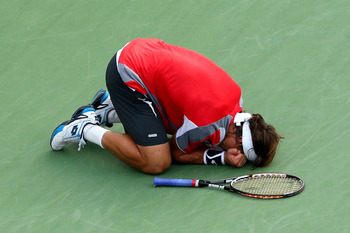 David Ferrer gave us a show on Thursday, but nobody's stopping Djokovic