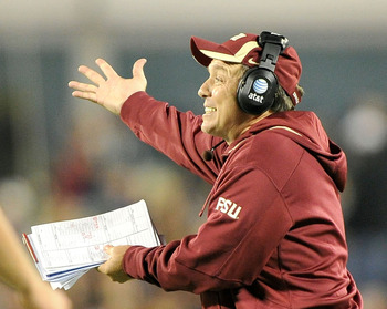 Florida State head coach Jimbo Fisher.
