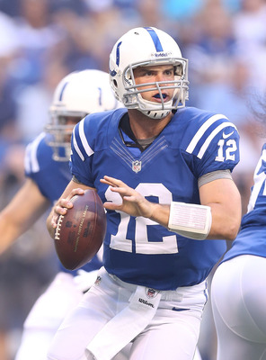 Luck will be playing in his first real NFL action.