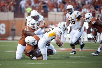 Texas must stop both the quarterbacks and running backs in the ground game.