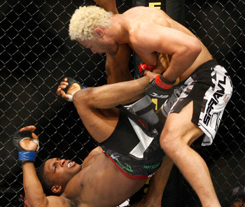 Josh Koscheck vs. Paul Daley was a fight filled with bad sportsmanship.