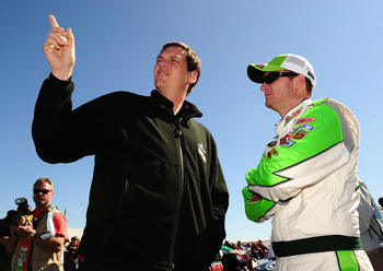 Steve Letarte is the No. 1 reason why Earnhardt is where he's at this season.