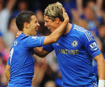 Hazard and Fernando Torres (above) have already delivered some results.