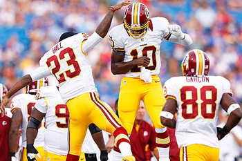 RGIII will bring a new level of excitement to DC. (Getty Images)