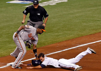 The Orioles and Rays are fighting the Yankees and each other for control of the AL East.