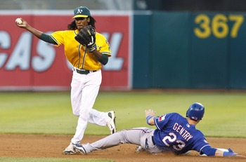 The A's hope to take the Rangers down a peg in this late-season series.