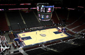 The Nets will no longer be playing in an empty arena.