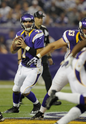 Christian Ponder showed flashes of brilliance in 2011, but he also missed time with injuries and made bad mistakes with 13 interceptions.