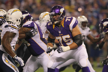The Vikings selected Matt Kalil fourth overall in the NFL Draft last April to solidify their weak offensive line.