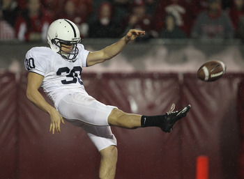 Butterworth replaces Fera (above) as Penn State's most experienced kicker.