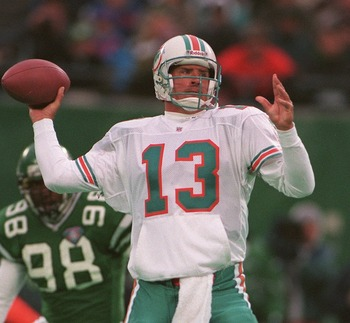 Dan Marino and the Dolphins enjoyed ripping the Jets apart in the 1995 season opener.