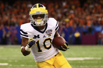 Michigan receiver Jeremy Gallon