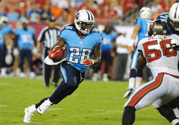 Chris Johnson will need to get going early against the Pats