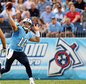 Jake locker gets his first career NFL start this Sunday vs. the Patriots