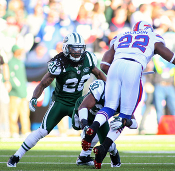 The Jets have bottled up Fred Jackson in his six career games against them.