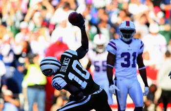 Santonio Holmes hopes the Jets can continue the success that has seen them win seven of their last eight matchups against the Bills.