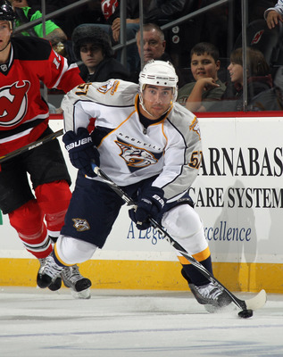 Francis Bouillon, formerly of the Nashville Predators.
