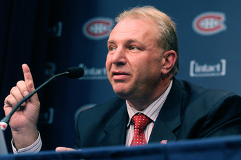 Michel Therrien, head coach of the Montreal Canadiens.