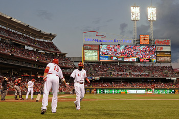 Joey Votto and the Reds still get nine ore chances to launch bombs in hitter-friendly Great American Ball Park.
