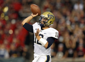 Pitt QB Tino Sunseri won't be able to overcome the defense's inability to stop the run