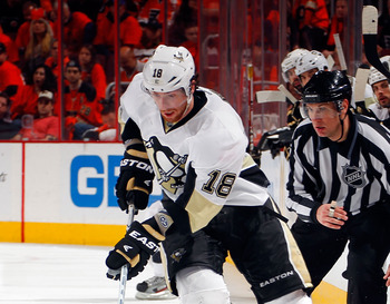 James Neal set a career high in points last season. He will need to perform to a similar level in 2012-13.