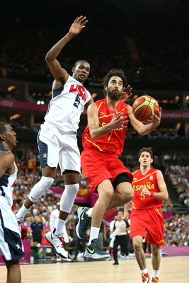 Navarro played well for silver medal winning Spain
