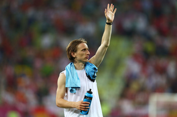 Modric: A solitary figure in final Spurs months