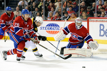Josh Gorges of the Montreal Canadiens.