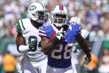 CJ Spiller burns the Jets for 169 yards