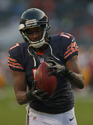 Jeffery was the Bears' second leading receiver today.
