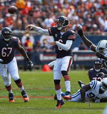 Jay Cutler has won the last three season openers as the starting quarterback.