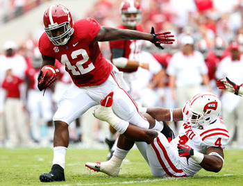 Lacy has struggled to regain the form he showed in his first two seasons at Alabama.