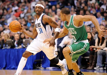 Jason Terry was just one of several offseason acquisitions made to bolster the C's backcourt depth.