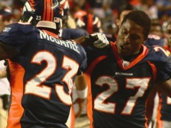 Willis McGahee and Knowshon Moreno.