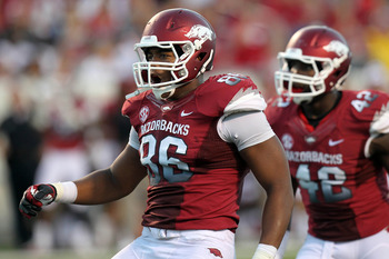 Trey Flowers had two tackles against Louisiana-Monroe.