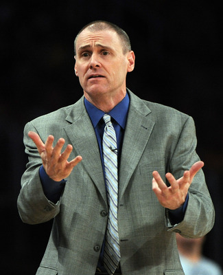 Mavs coach Rick Carlisle has his hands full with the talented teams of the NBA's Western Conference