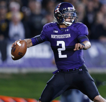 Kain Colter struggled once again in Northwestern's week two tilt with Vanderbilt.