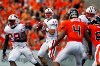Danny O'Brien struggled in Wisconsin's loss to Oregon State.