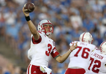 Taylor Martinez and the Cornhuskers were upset by UCLA at the Rose Bowl on Saturday.