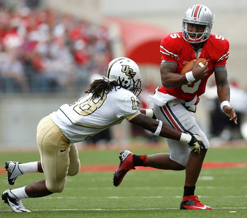Braxton Miller dazzled Central Florida's defense all afternoon to lead Ohio State to a convincing win.