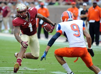 Kelvin Benjamin is Florida State's receiver of the future.