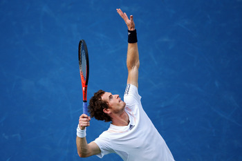 Andy Murray's first serve will be a big reason why he wins or loses