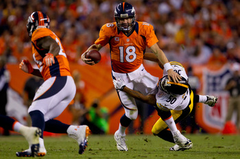 Manning stayed in the pocket and stepped up when he needed to.